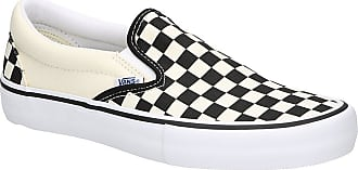Vans Checkerboard Pro Slip-Ons (checkerboard) black / whit