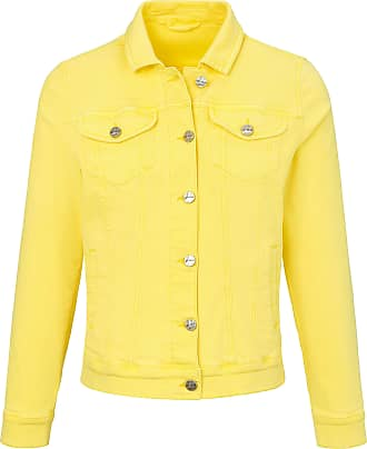 Looxent Denim jacket typical metal buttons Looxent yellow
