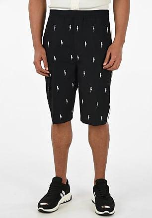 Neil Barrett Side Bands THUNDERBOLT Printed Shorts size 50