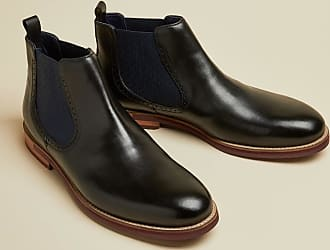 Ted Baker Leather Chelsea Boots in Black SECARR, Mens Accessories