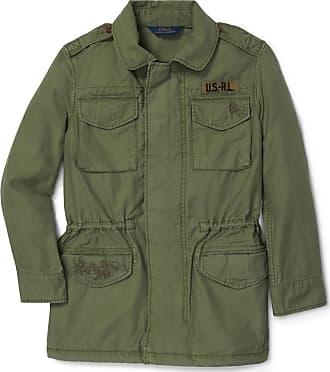 7a7dadb97e5 Polo Ralph Lauren Veste militaire broderies Vert Polo Ralph Lauren