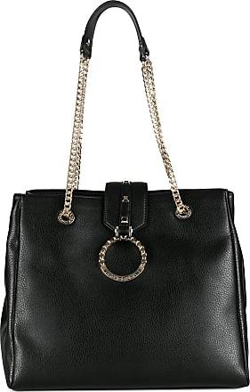 Versace Jeans Couture Bolsa tote com alça de corrente - Preto