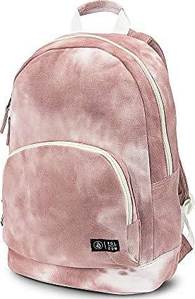 Volcom Juniors Womens School Yard Canvas Backpack, Mauve, One Size Fits All