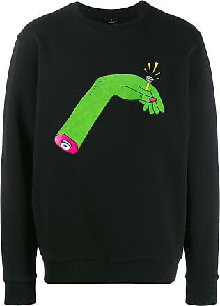 Marcelo Burlon hand sweater - Preto