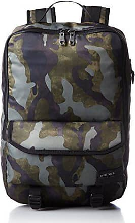Diesel Mens Ranks F-Close Back Backpack, Military Camo