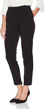 Vila Womens Viher 7/8 New Pant-noos Trouser, Multicoloured (Black), 42 (Size: X-Large)