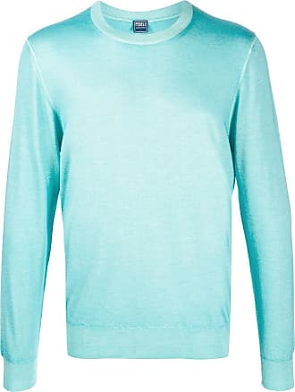 Fedeli lightweight crew neck jumper - Azul