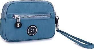 GFM Womens Nylon Waterproof Wristlet Or Crossbody Purse Bag (S2-512-JNSNL)