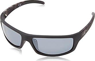 Anarchy Eyewear Mens Skeptical Polarized Wrap Sunglasses,Black Camo,62.5 mm