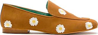 Blue Bird Shoes Loafer Boyish Daysi de camurça - Marrom