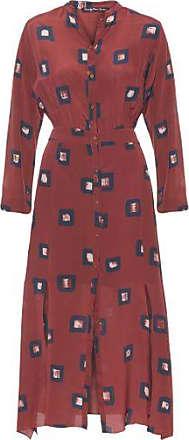 TWENTY FOUR SEVEN Vestido Max Square Twenty Four Seven - Vermelho