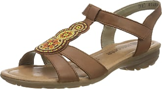 Remonte Womens R3641 T-Bar Sandals, Brown (Muskat/Cayenne 24), 6.5 UK
