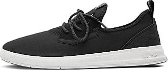 Volcom Mens Draft Eco Shoe Sneaker, Black White, 9 UK