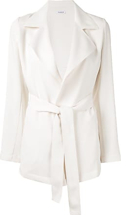 P.A.R.O.S.H. belted jacket - White