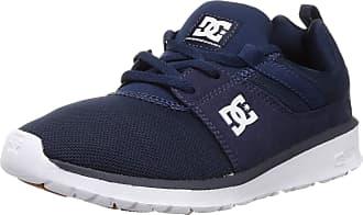 DC Mens Heathrow Skateboarding Shoes, Blue (NVY), 5.5 UK