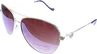 8a9ea0fd61 Jessica Simpson Womens J5596 Gldts Non-Polarized Iridium Aviator Sunglasses  Gold Tortoise 60 mm