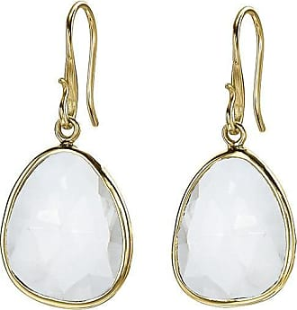 Dower & Hall Large Rock Crystal Jewel Drop Earrings