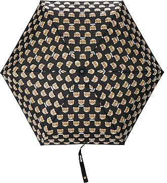 Moschino Ombrello con orsetti stampati - Di colore nero