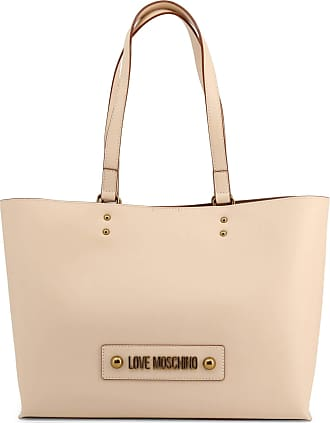 Love Moschino Logo Shopping Bag in Brown - brown - NOSIZE