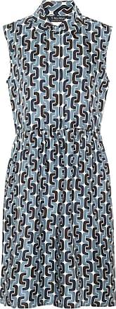 Max Mara Ostuni printed silk shirt dress