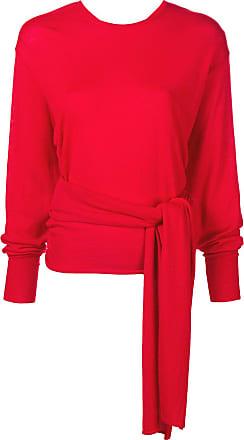 Esteban Cortazar Blusa com amarração - Vermelho