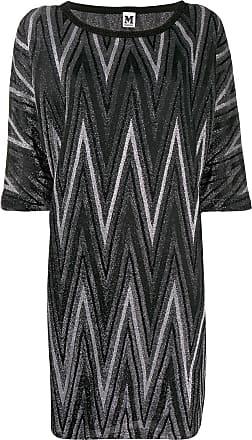M Missoni short zigzag dress - Preto