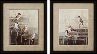 Paragon Picture Gallery Paragon Evening Sanctuary Framed Wall Art - Set of 2 - 1251