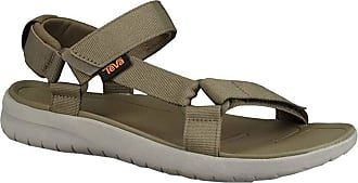 Teva Mens Sanborn Universal Open Toe Sandals, Green (Burnt Olive Btol), 10 UK (44.5 EU)