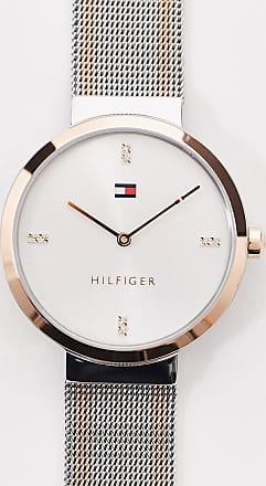Tommy Hilfiger sunray mix metal mesh watch 1782221-Multi