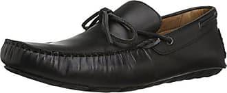G.H. Bass & Co. Mens Wyatt Slip-On Loafer, Black, 11 M US