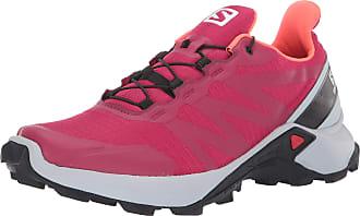 Salomon Womens Supercross W Hiking Shoe, Cerise./Pearl Blue/Fiery Coral, 3.5 UK