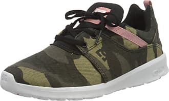 DC Womens Heathrow Tx Se Low-Top Sneakers, Multicolour (Camo Black Kco), 5 UK