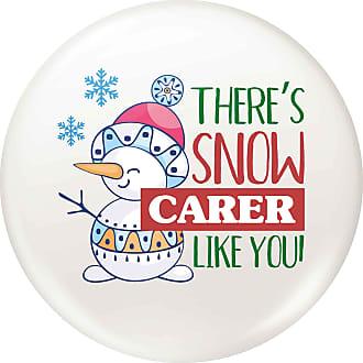 Flox Creative Small 25mm Pin Badge Snow Carer Like You