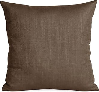 Elizabeth Austin Milan Sterling Decorative Throw Pillow Chocolate Polyester Fill - 1-202