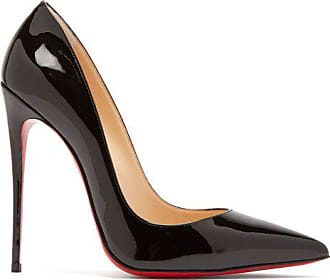 Christian Louboutin So Kate 120 Patent-leather Pumps - Womens - Black