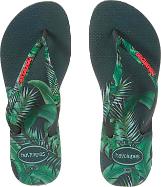 Havaianas Slim Sensation Womens Sandals UK 6-7 Green Olive