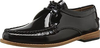 G.H. Bass & Co. Womens Winnie Tuxedo Loafer, Black, 6 M US