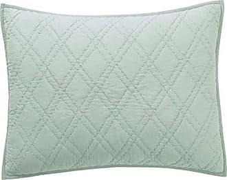VHC Brands Farmhouse Bedding - Casey Green Sham, Standard, Sea Glass