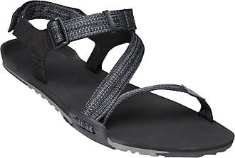 Xero Shoes Z-Trail - Mens Lightweight Hiking and Running Sandal - Barefoot-Inspired Minimalist Trail Sport Sandals Black Size: 14 Wide