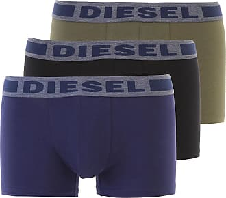 Diesel Intimo Boxer da Uomo On Sale in Outlet, 3 Pack, Blue, Cotone, 2019, XS