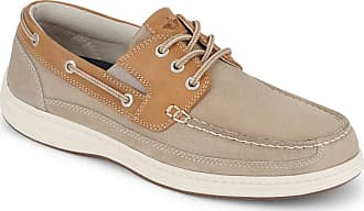Dockers Dockers Mens Anchor Leather Casual Classic Boat Shoe with NeverWet
