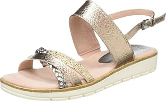 Marco Tozzi Womens 2-2-28625-24 Ankle Strap Sandals, Pink (Rose Met. Comb 532), 5 UK