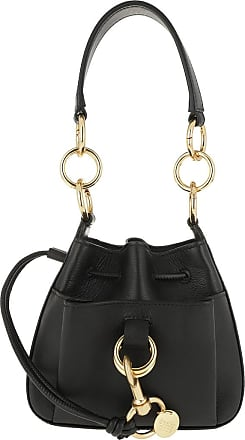 See By Chloé Bucket Bags - Tony Small Shoulder Bag Black - black - Bucket Bags for ladies