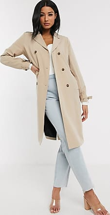 Unique21 Unique21 belted trench in sand-Tan