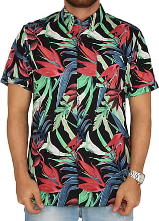 Hurley Camisa Hurley Jungle Trip - Colorida - GG