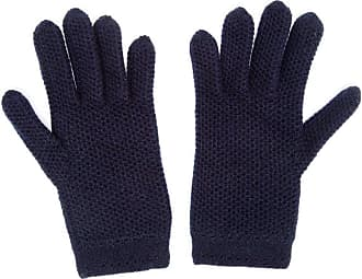 inverni knitted gloves - Di colore blu