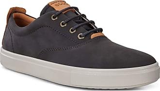 Ecco Mens Kyle CVO Sneaker, Black/Lion Oil Nubuck, 11-11.5
