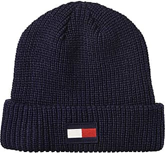 0f2e85671d02df Tommy Hilfiger Mens Cold Weather Knit Beanie, New Navy, One Size