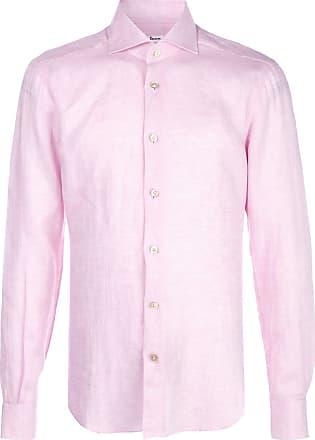 Kiton plain buttoned shirt - PINK