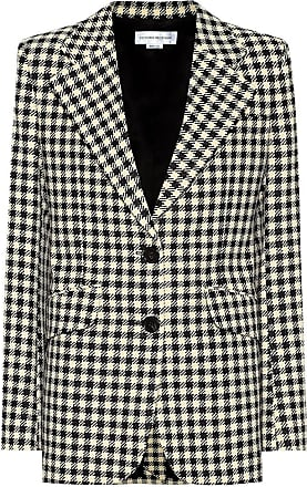 Victoria Beckham Houndstooth single-breasted blazer